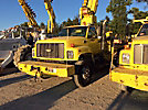 Altec D800-TB, Digger Derrick, mounted behind cab on, 2000 Chevrolet C8500 T/A Flatbed Truck