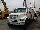 Altec D842-ABC, Hydraulic Crane, corner mounted on, 2001 International 4900 Utility Truck