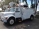 Altec D842-T, Digger Derrick, corner mounted on, 1994 International 4900 Utility Truck