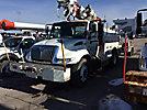 Altec D842-TC, Digger Derrick, corner mounted on, 2003 International 4400 Utility Truck