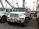Altec D842A-TC, Digger Derrick, corner mounted on, 2000 International 4900 Crew-Cab Utility Truck