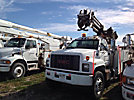 Altec D845-ATC, Digger Derrick corner mounted on 2000 GMC C8500 T/A Utility Truck