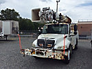 Altec D845-BR, Digger Derrick, rear mounted on, 2004 International 4300 Utility Truck