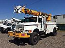 Altec D845-TR, Digger Derrick, rear mounted on, 1995 International 4800 4x4 Utility Truck