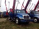 Altec D845A-TR, Digger Derrick rear mounted on 2005 International 4300 Utility Truck