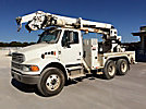 Altec D945-BR, Digger Derrick rear mounted on 2004 Sterling Acterra T/A Utility/Flatbed Truck