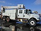 Altec D945-TC, Hydraulic Crane rear mounted on 2003 International 7400 T/A Crew-Cab Utility Truck