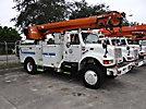 Altec D945-TR, Digger Derrick rear mounted on 1997 International 4800 4x4 Utility Truck