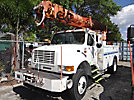 Altec D945-TR, Digger Derrick rear mounted on 1998 International 4800 4x4 Utility Truck