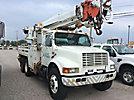 Altec D945-TR, Digger Derrick rear mounted on 2002 International 4900 T/A Utility Truck