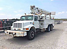 Altec D947-TB, Digger Derrick, mounted behind cab on, 1999 International 4900 T/A Utility Truck