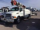 Altec D947-TC, Digger Derrick, corner mounted on, 2003 Sterling M8500 Utility Truck