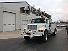 Altec D947-TR, Digger Derrick, rear mounted on, 1996 International 4800 4x4 Utility Truck