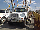 Altec D947-TR, Digger Derrick, rear mounted on, 2000 International 4800 4x4 Utility Truck