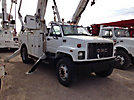Altec D947-TR, Digger Derrick, rear mounted on, 2001 GMC C8500 Utility Truck