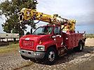 Altec D947-TR, Digger Derrick rear mounted on 2003 GMC C7500 Utility Truck