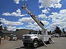 Altec D947-TR, Digger Derrick rear mounted on 2003 International 7300 4x4 Utility Truck