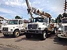 Altec D947-TR, Digger Derrick rear mounted on 2003 International 7400 T/A Utility Truck
