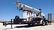 Altec DB35, Back Yard Digger Derrick, mounted on, 2005 Hinowa PT3000 Crawler All-Terrain Vehicle