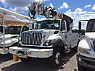 Altec DC47-TR, Digger Derrick rear mounted on 2009 International 7300 4x4 Utility Truck