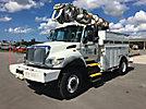 Altec DM45-BC, Digger Derrick corner mounted on 2004 International 7300 4x4 Utility Truck