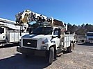 Altec DM47-BR, Digger Derrick, rear mounted on, 2005 Chevrolet C7500 Flatbed/Utility Truck