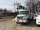 Altec DM47-BR, Digger Derrick, rear mounted on, 2005 International 4300 Utility Truck