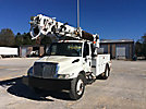 Altec DM47-BR, Digger Derrick, rear mounted on, 2007 International 4300 Utility Truck