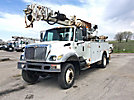 Altec DM47-TB, Digger Derrick mounted behind cab on 2007 International 7300 4x4 Utility Truck