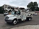 Altec DM47-TR, Digger Derrick, rear mounted on, 2006 International 4300 Flatbed/Utility Truck