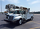 Altec DM47-TR, Digger Derrick, rear mounted on, 2007 International 4300 Utility Truck