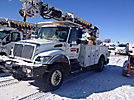 Altec DM47-TR, Digger Derrick, rear mounted on, 2007 International 7300 4x4 Utility Truck