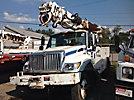Altec DM47-TR, Digger Derrick, rear mounted on, 2007 International 7300 Utility Truck