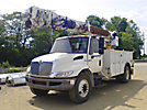 Altec DM47-TR, Digger Derrick, rear mounted on, 2008 International DuraStar 4300 Utility Truck