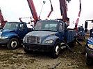Altec DM47-TR, Digger Derrick rear mounted on 2004 Freightliner M2 106 Utility Truck