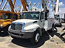 Altec DM47-TR, Digger Derrick rear mounted on 2006 International 4300 Utility Truck