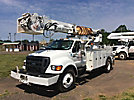 Altec DM47-TR, Digger Derrick rear mounted on 2007 Ford F750 Utility Truck