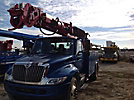 Altec DM47-TR, Digger Derrick rear mounted on 2007 International 4300 Utility Truck