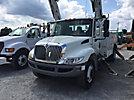 Altec DM47-TR, Digger Derrick rear mounted on 2008 International 4300 Utility Truck