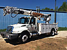 Altec DM47-TR, Digger Derrick rear mounted on 2009 International 4300 Utility Truck