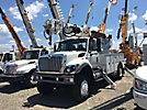 Altec DM47-TR, Digger Derrick rear mounted on 2009 International 7300 4x4 Utility Truck