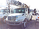 Altec DM47-TR, Digger Derrick rear mounted on 2010 International 4300 Utility Truck