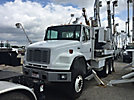 Altec HD35, Pressure Digger, mounted on, 2002 Freightliner FL80 6x6 Flatbed Truck