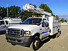 Altec L36A, Over-Center Bucket Truck, center mounted on, 2002 Ford F550 Service Truck
