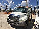 Altec L36A, Over-Center Bucket Truck center mounted on 2006 International 4300 Utility Truck