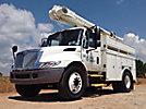 Altec L36A, Over-Center Bucket Truck center mounted on 2007 International 4300 Utility Truck