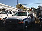 Altec L37-MH, Over-Center Material Handling Bucket Truck, center mounted on, 2001 Ford F550 Service Truck
