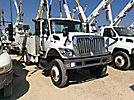 Altec L37MR, Over-Center Material Handling Bucket Truck 2009 International 4300 Utility Truck