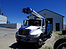 Altec L42, Over-Center Bucket Truck, center mounted on, 2003 International 4300 DuraStar Utility Truck