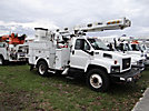 Altec L42-MH, Over-Center Material Handling Bucket Truck center mounted on 2006 Chevrolet C7500 Utility Truck